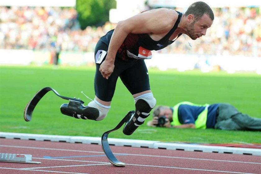 Wygrał bieg, choć nie ma nóg!