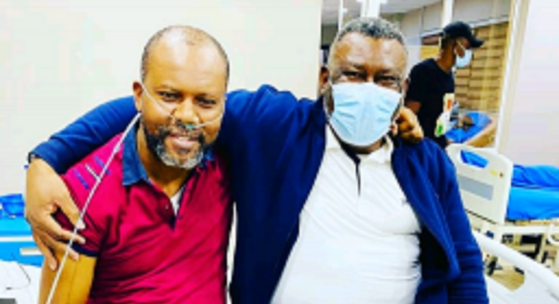 Pete Edochie's son Uche says he spent over N6n to treat COVID-19. (NAN)