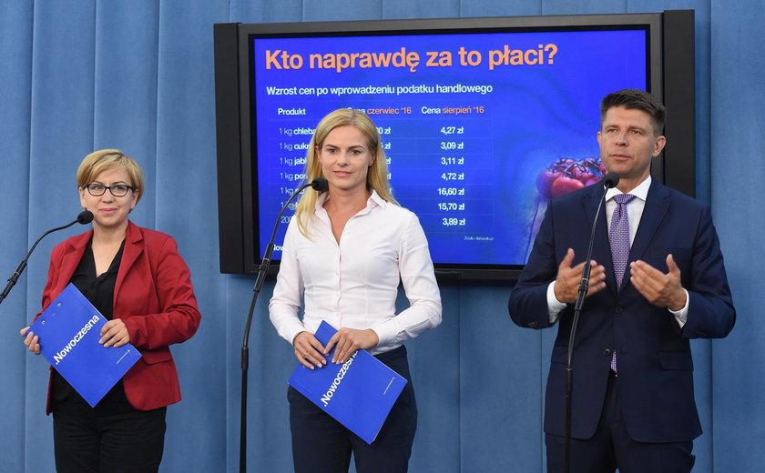 Ryszard Petru, Paulina Hennig-Kloska, Joanna Schmidt