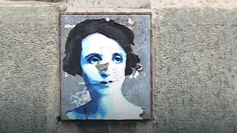 Ksenijin lik na ulicama Beograda