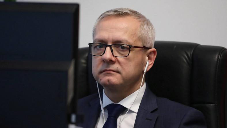 Sekretarz stanu w KPRM, pełnomocnik rządu do spraw cyberbezpieczeństwa Marek Zagórski
