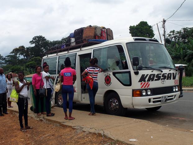 Dojazd do granicy, Gwinea Równikowa