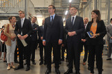 Otvaranja Lidla, Aleksandar Vučić, Nova Pazova