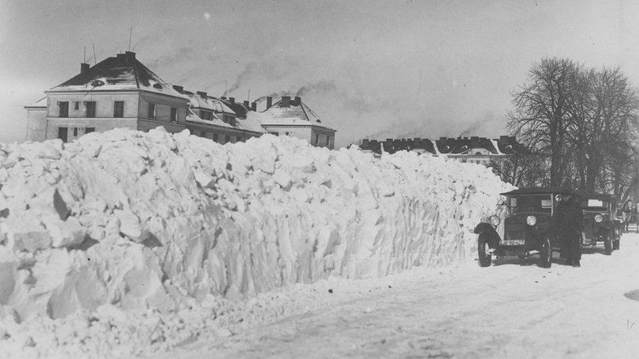 Tak walczono z atakiem zimy w przedwojennej Polsce