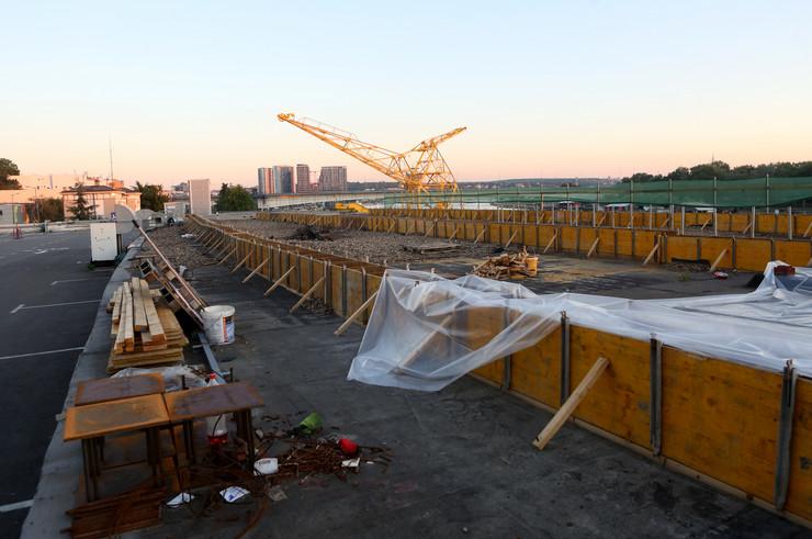 Beton hala gradnja
