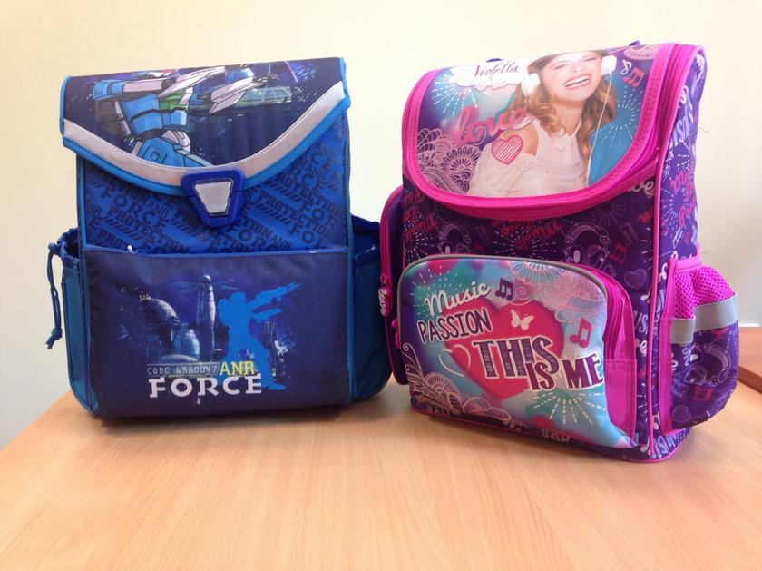 Kolorowe plecaki ufundowane przez Czytelników Faktu