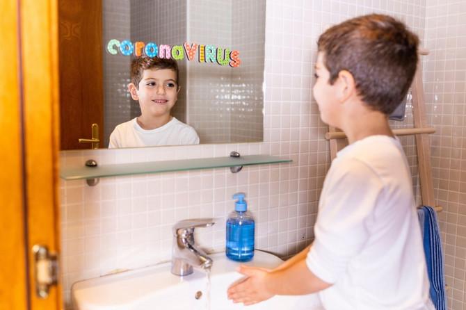 Najvažnije je da deca često i temeljno peru ruke