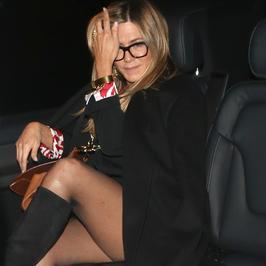 Jennifer Aniston o krok od wpadki!