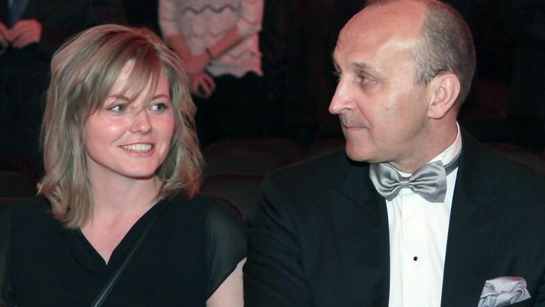 Kazimierz Marcinkiewicz z żoną Izabelą Marcinkiewicz