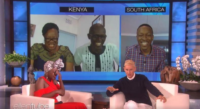 Kenyan family reunited on Ellen Degeneres show
