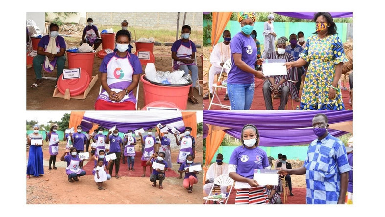 Opportunity International Savings and Loans holds 2nd graduation ceremony for 54 female street porters (Kayayei)