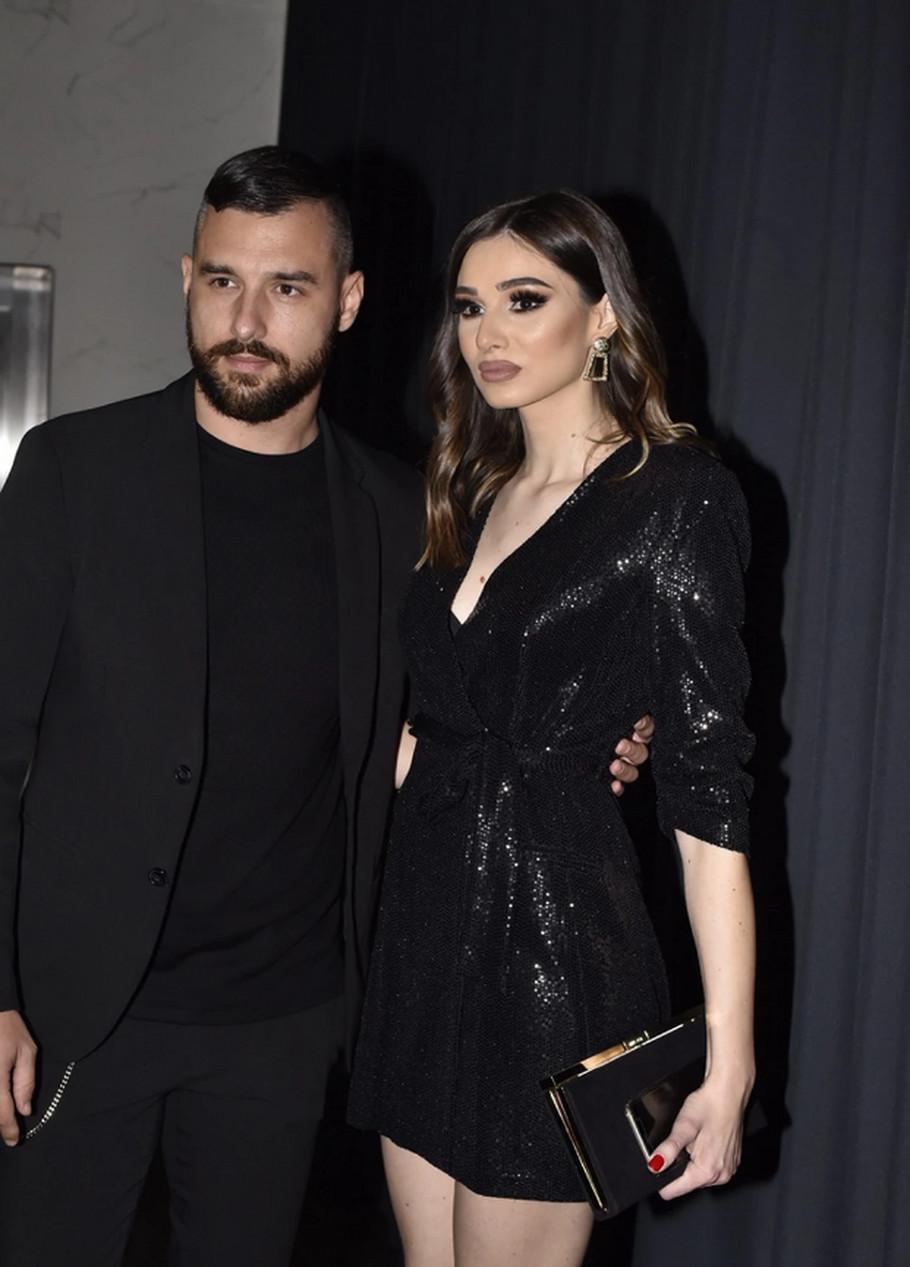 Nemanja Stevanović sa suprugom