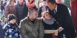 Premier na pogrzebie Julii Bonk