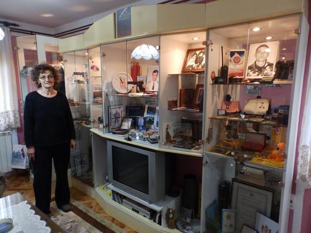 Nada u muzeju koji je napravila u kući