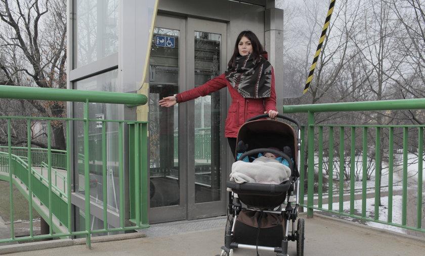 Nieczynne windy w Warszawie