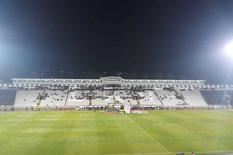 SABLASNO PRAZAN STADION PARTIZANA Manje od 1.000 ljudi bodri reprezentaciju Srbije /FOTO/