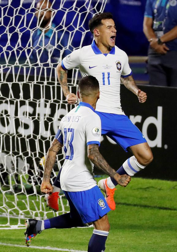 Strelac dva gola: Filipe Kutinjo