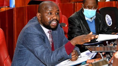 """Mixed reactions as Murkomen alleges that Kalonzo went to DCI for """"Dry Cleaning"""""""