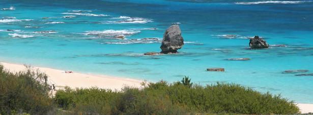 8. Plaża Horseshoe na Bermudach stwarza idealne warunki do wspaniałych wakacji przez cały rok.