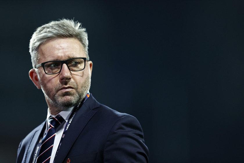 Jerzy Brzeczek o meczu z Ukrainą