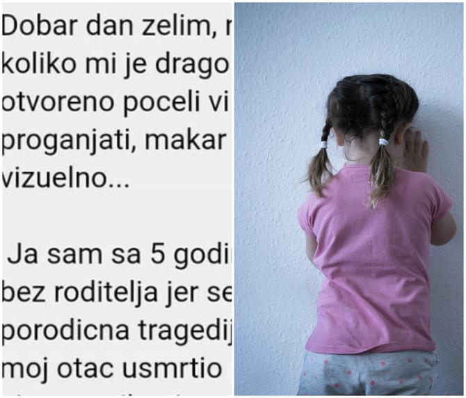 Ispovest anonimne žene potresla je Srbiju