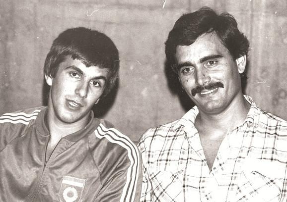 Đurović sa kolegom Željkom Obradovićem