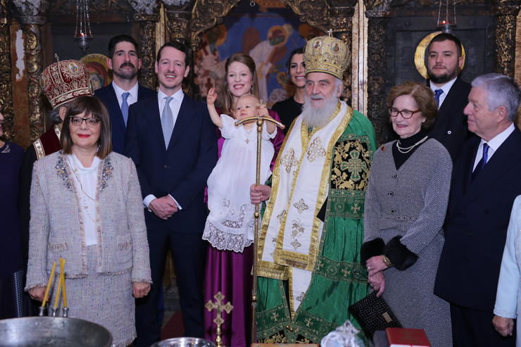 Krštenje Stefana Karađorđevića
