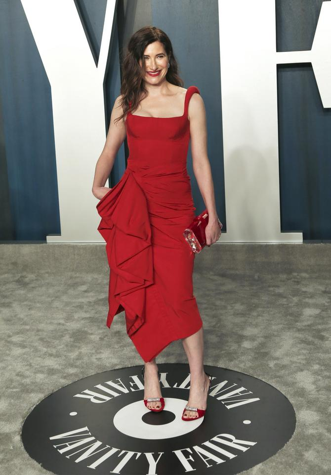 Oscary 2020: Kathryn Hahn na Vanity Fair Oscar Party
