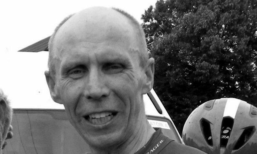 49-letni Piotr Nowacki zmarł podczas wyścigu w Sobótce.
