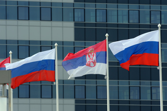Ruska i srpska zastava