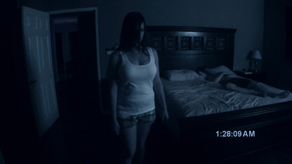 """Paranormal Activity"", reż. Oren Peli, 2007 r."