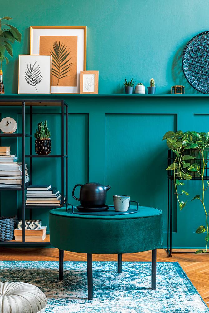 Toplu atmosferu u domu lako ćete postići tamnim bojama
