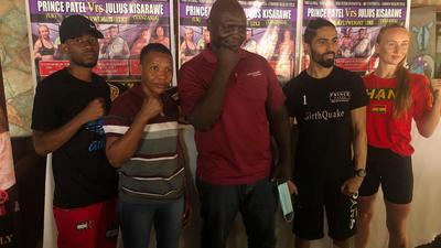 Prince Patel, Julius Kisarawe clash for 5 titles in Accra on March 27