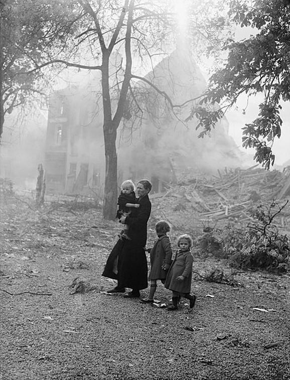 Izbeglice u Belgiji, maj, 1940. godine