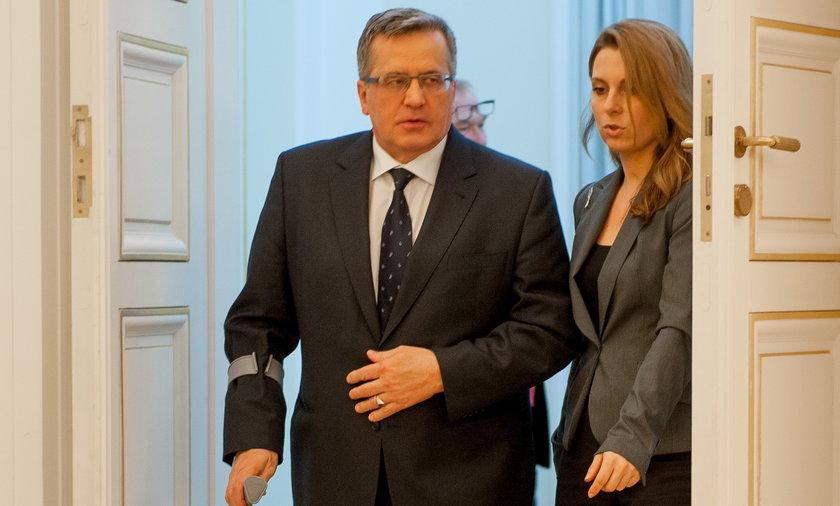 Oświadczenie bronisława komorowskiego o krymie
