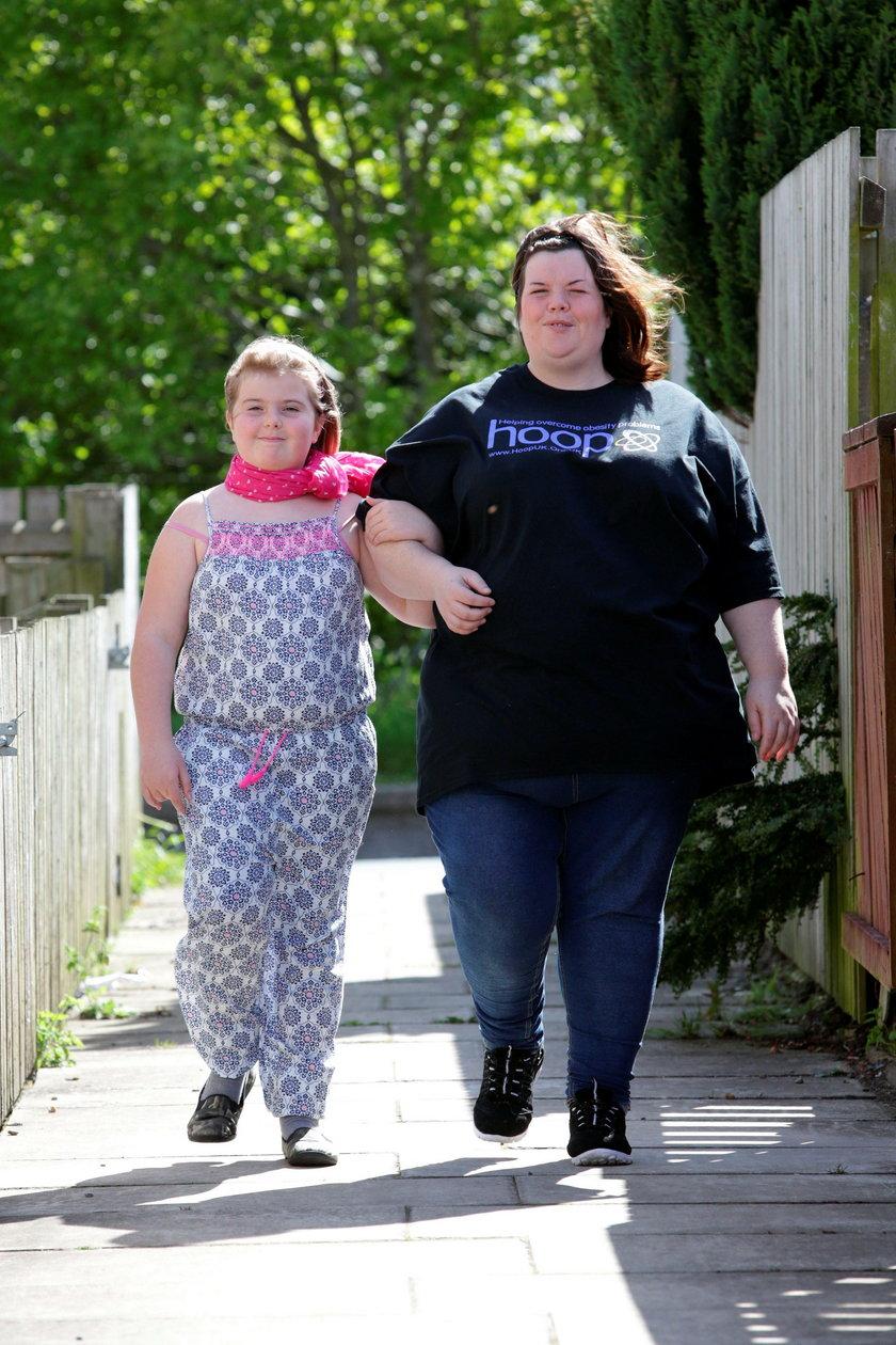 Jej córka mam nadwagę, obwinia o to rząd!