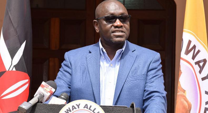 Thirdway Alliance Party leader Ekuru Aukot