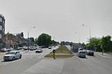 Višnjička ulica razdelno ostrvo