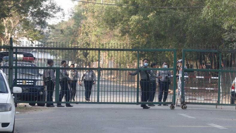 Armia w Mjanmie EPA/NYEIN CHAN NAING Dostawca: PAP/EPA.