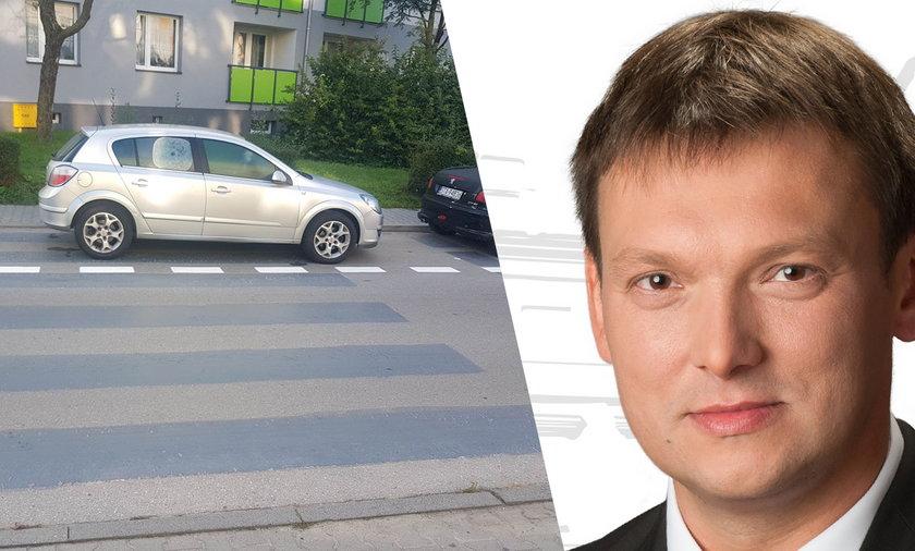 Burmistrz Miasteczka Śląskiego zlikwidował przejścia dla pieszych.