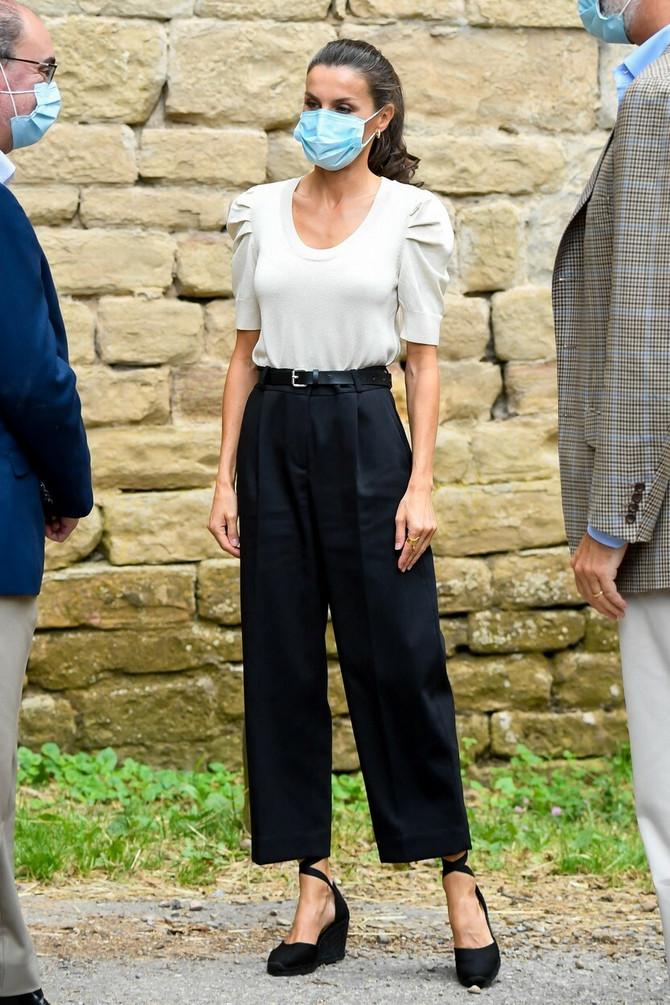 Jednostavnost i elegancije - na tome Leticija insistira u svom stilu