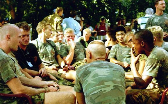 Plavi šlemovi u Srebrenici