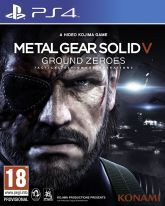 Okładka: Metal Gear Solid V: Ground Zeroes