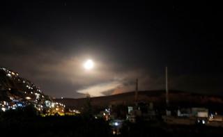 Syryjskie siły obrony powietrznej odpowiedziały na izraelskie rakiety