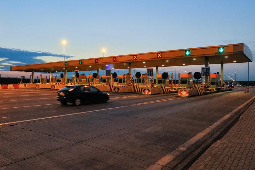 Ostatnie bramki na A1 przed Gdańskiem.