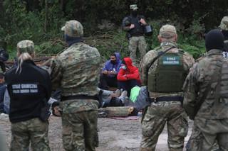 MSZ: Polska oferuje pomoc humanitarną imigrantom przebywającym na Białorusi