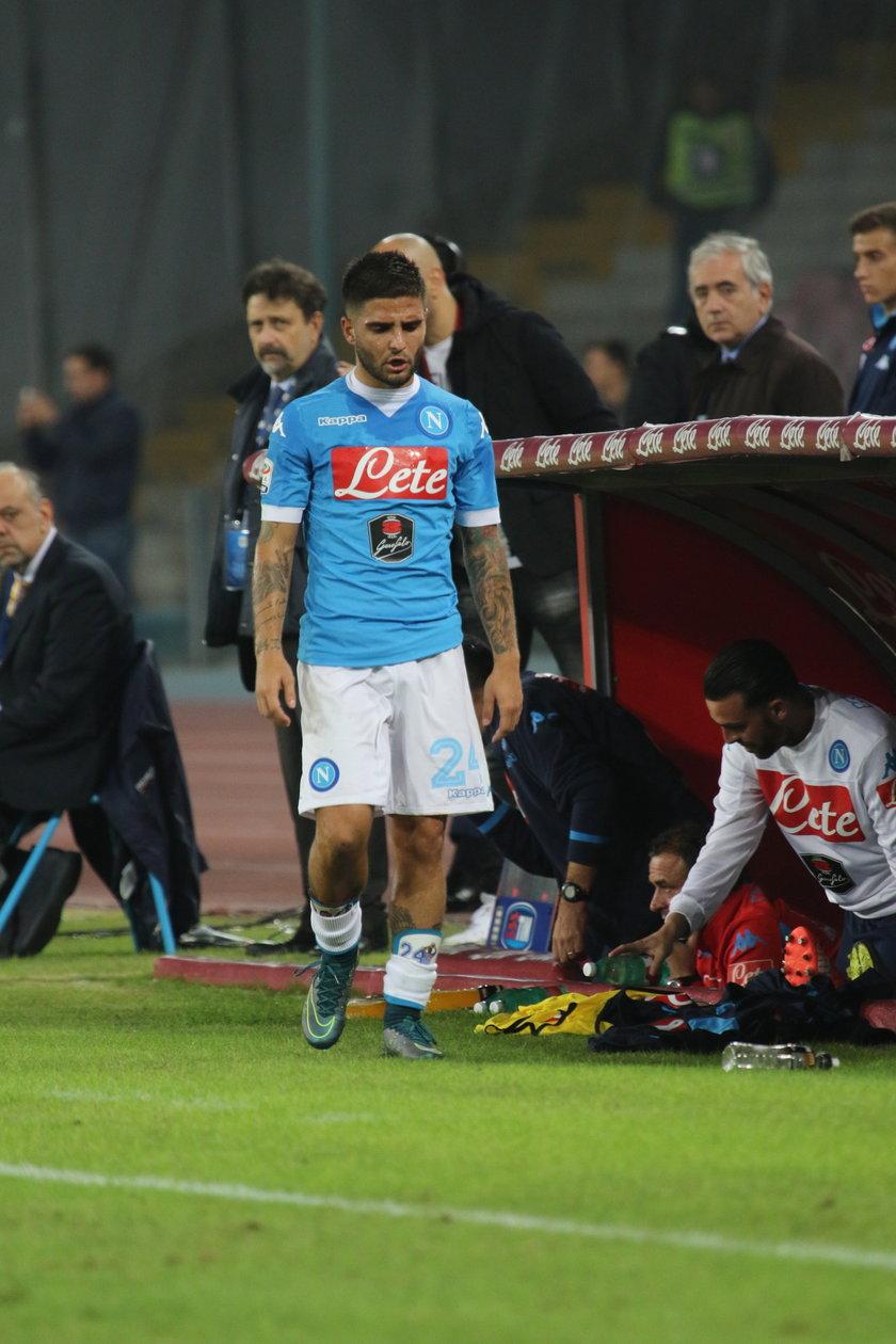Piłkarz Napoli Lorenzo Insigne został okradziony przez uzbrojonych bandytów