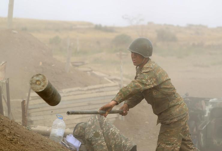 Jermenija, vojska,Nagorno-Karabah