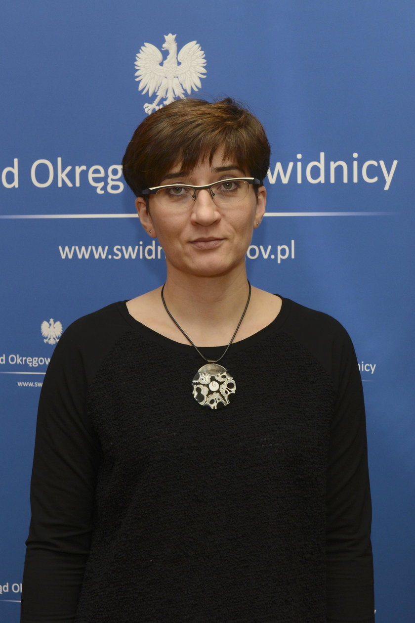 Agnieszka Połyniak, rzecznik prasowy Sądu Okręgowego w Świdnicy