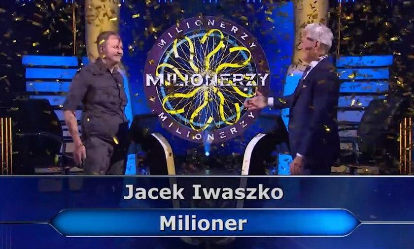 Jacek Iwaszko 23 września został milionerem.